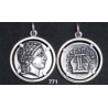 771 Chalkidian League god Apollo and Lyre/kithara