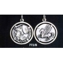 772/B Corinth stater coin Athena and pegasus