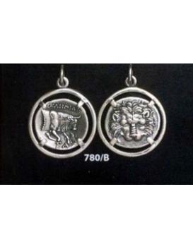 780/B Samos Lion skin & Ox coin