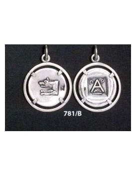 781/B Argos Wolf coin