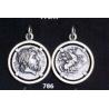786 Phillip II Macedon coin depicting Zeus