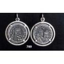 789 Byzantine Theofilos Coin pendant