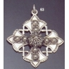 63 Large ornate Byzantine cross