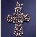 64 Radiant Concentric Byzantine Cross (L)