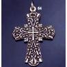 64 Radiant Concentric Byzantine Cross (L)