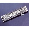 385 Ornate sterling brooch