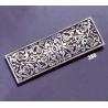 388 Ornate sterling brooch
