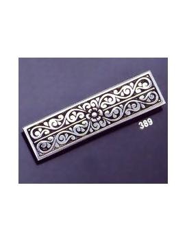 389 Ornate sterling brooch