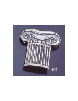 601 Ionic column brooch in sterling silver