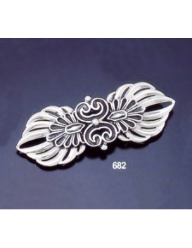 682 Double Akrokerama Brooch  ( L )