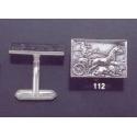 112 Greek Charioteer freize cufflinks