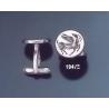 194/X Pegasus Roman intaglio signet (seal) Silver Cufflinks