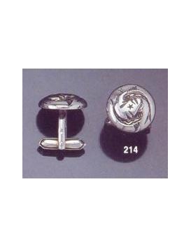 214 Minoan dolphin cufflinks
