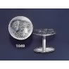 1049 Athena corinthian stater coin cufflinks
