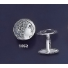 1052 Alexander the Great Coin cufflinks