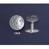 1054 Alexander the Great (Hercules) Silver Coin Cufflinks (M)