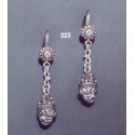 323 Lion torc earrings