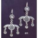 611 Minoan Malia Bees Chandelier Earrings