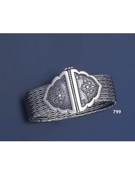 799 Hand Braided Silver Bracelet (M)