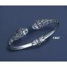 1067 Lions head torc bracelet