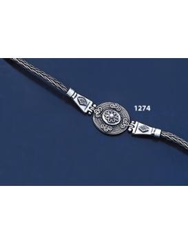 1274 Hellenistic Hand-Braided Bracelet