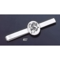457 Sterling Silver Tie-Bar with Minotaur Roman Intaglio Seal