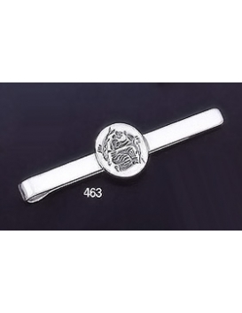 "463 Sterling Silver Tie-Bar with Minoan Fresco/Wall painting of Fyra """"Santorini"""" Intaglio Seal"