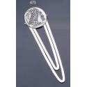 473 Sterling Silver Bookmark with Owl Of Wisdom Coin