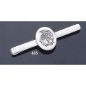 485 Sterling Silver Tie-Bar with Goddess Athena Intaglio (seal) Coin