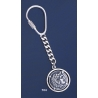 704 Silver Keyring with Alexander the Great ( Hercules ) coin
