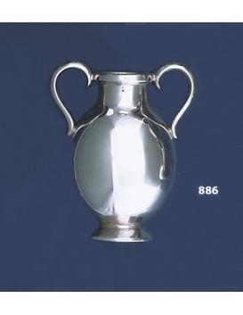 886 Solid Sterling Silver Miniature Amphora Vase