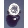 182 Athena intaglio (seal) Ring
