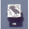 186 Owl of Wisdom intaglio (seal) ring