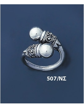 507/NS Impressive Solid Silver Ring