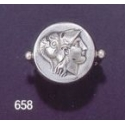 658 Helmetted Athena (Alexander stater) band ring