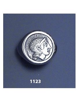 1123 Thourion Athena chevalier coin ring (XL)