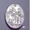 87 Minoan procession brooch
