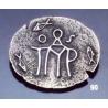 90 Byzantine monogram brooch