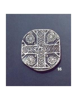 95 Knights templar/byzantine cross brooch