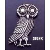 263/K Owl of Wisdom brooch