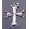 155 Sterling Byzantine/Knights Templar Cross pattée pendant