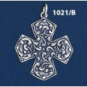 1021/B Ornate Byzantine Cross