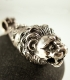262 Sterling Silver Lion torc pendant (ancient Greek - Roman jewelry reproductions)