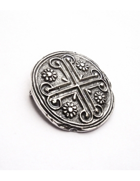 18 Byzantine / Knights templar cross brooch (Greek Jewelry Shop)