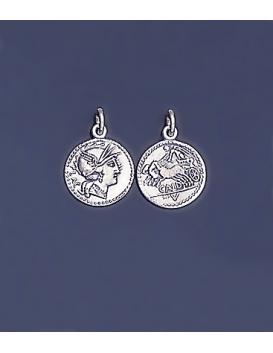 84 Roman Denarius depicting Roma
