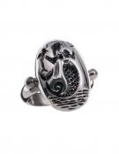 656 Ancient Greek intaglio (seal) Mermaid ring