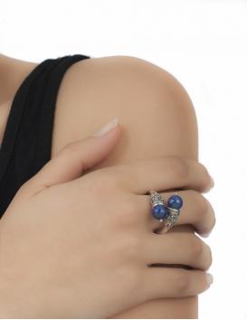 507/N Impressive Lapis Lazuli Silver Ring