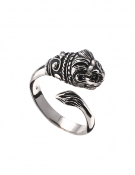 Lion ring for women from Greek Jewelry Shop