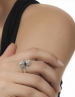 Silver Lion Ring - Greek jewelry