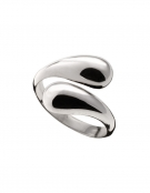 642 Contemporary Snake-like droplet ring